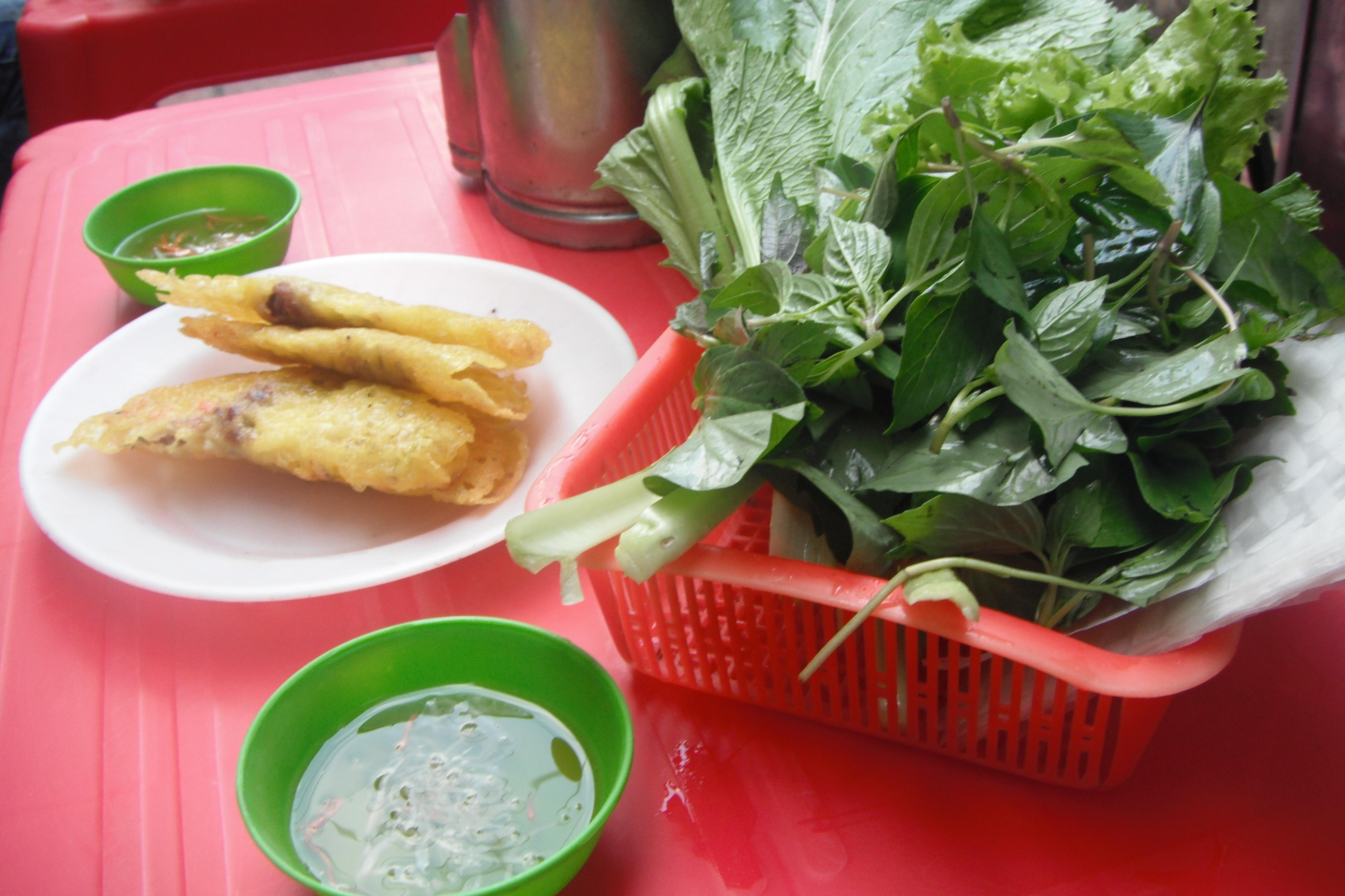 """Bánh Xèo – Crispy Rice Flour""""Crepe,"""" Stuffed with Shrimp, Pork ..."""
