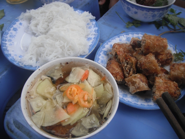 Grilled Pork Noodle Salad Ha Noi Style – (Bún Chả) | Vietnamese ...